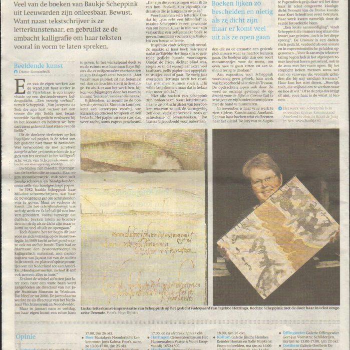 Friesch Dagblad 2014